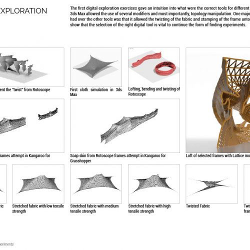 Form Finding - Digital Exploration
