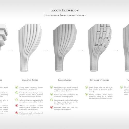 Bloom Expression: Architectural Language Development