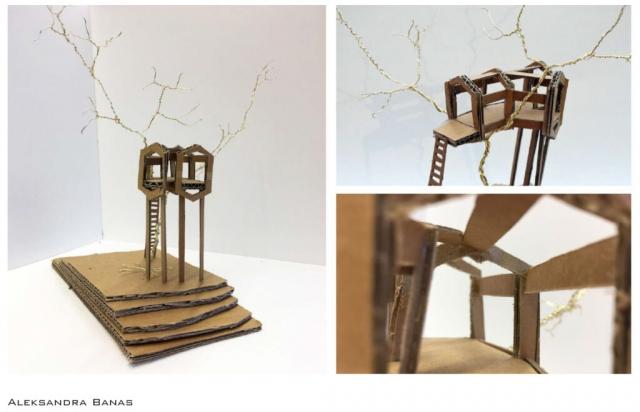 Photographer's creative shelter model
