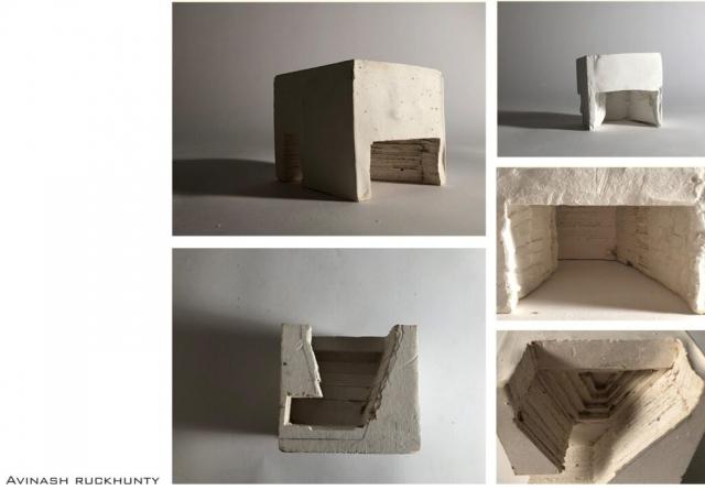 Writer's creative shelter model
