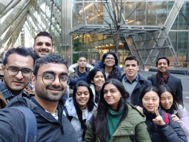 Site Visit - Broadgate Tower, London