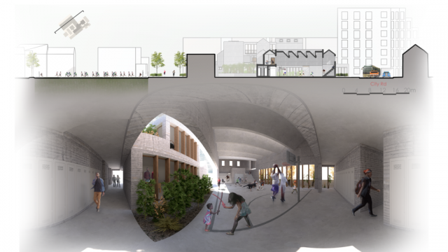 """The scheme embodies a """"neighbourhood playground"""" atmosphere whilst preserving respect to the users within"""