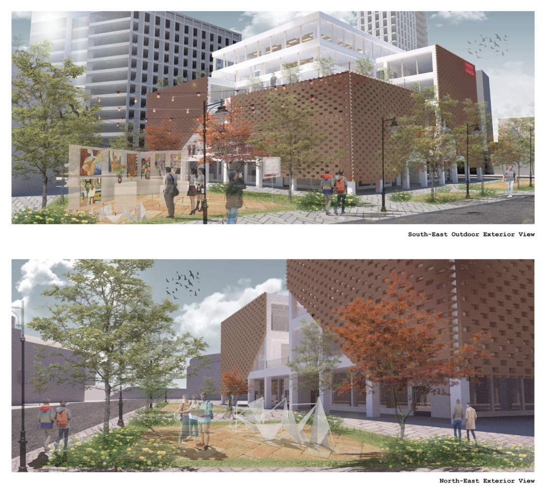 External Render of the scheme by Junhyeon Song