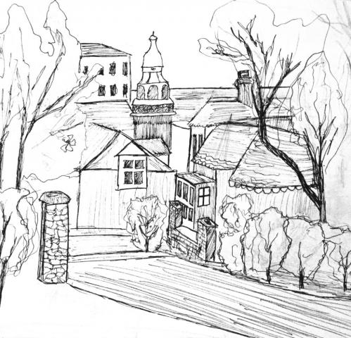 A sketch of Penarth and surrounding context