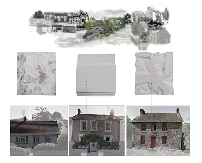 This is an investigation in the existing housing typology in the rural areas of Wales, looking predominantly at their brick work. This study was undertaken in order to further understand the opportunities and limitations of a retrofitting strategy.