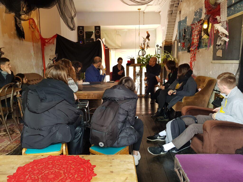 Talk by Franca Pauli at 101 Social