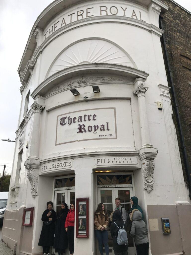 Outside Theatre Royal