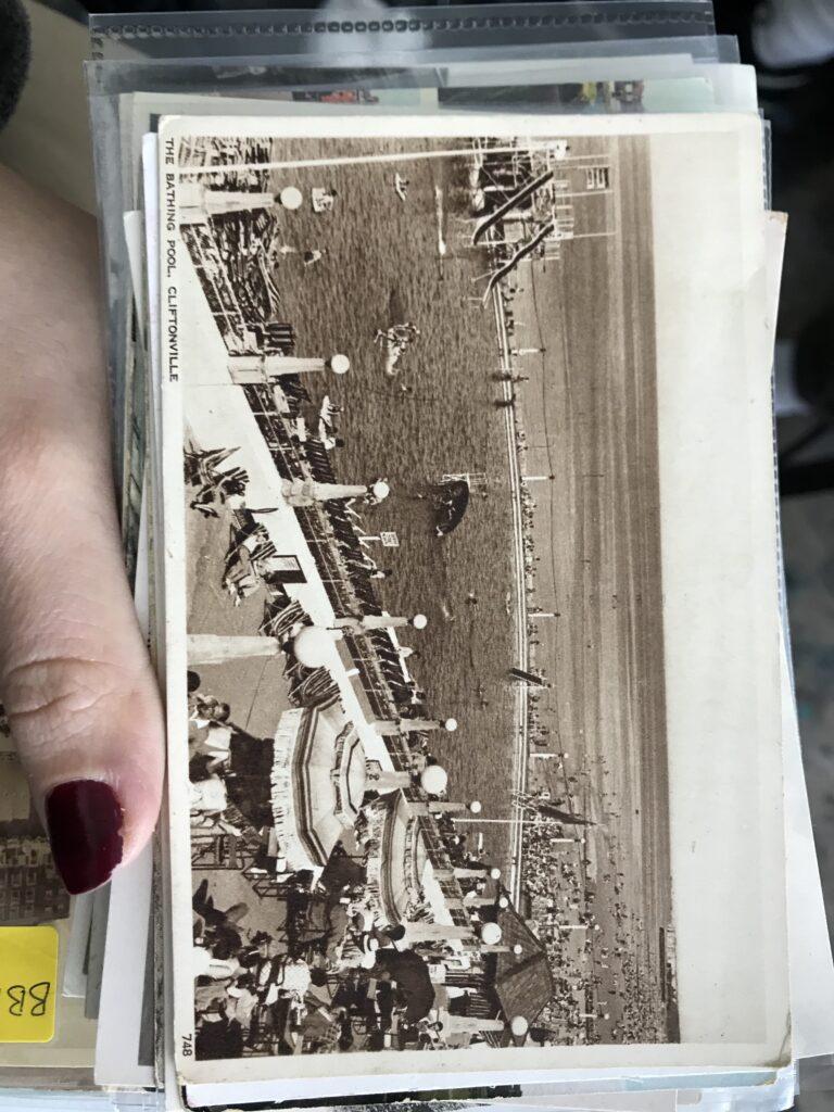 postcard of margate