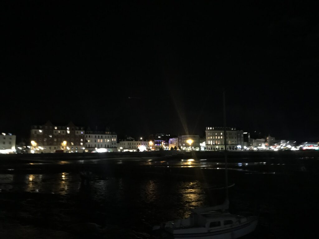 evening View from Harbour Arm