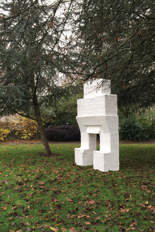 The hearth sits in a picturesque nearby park