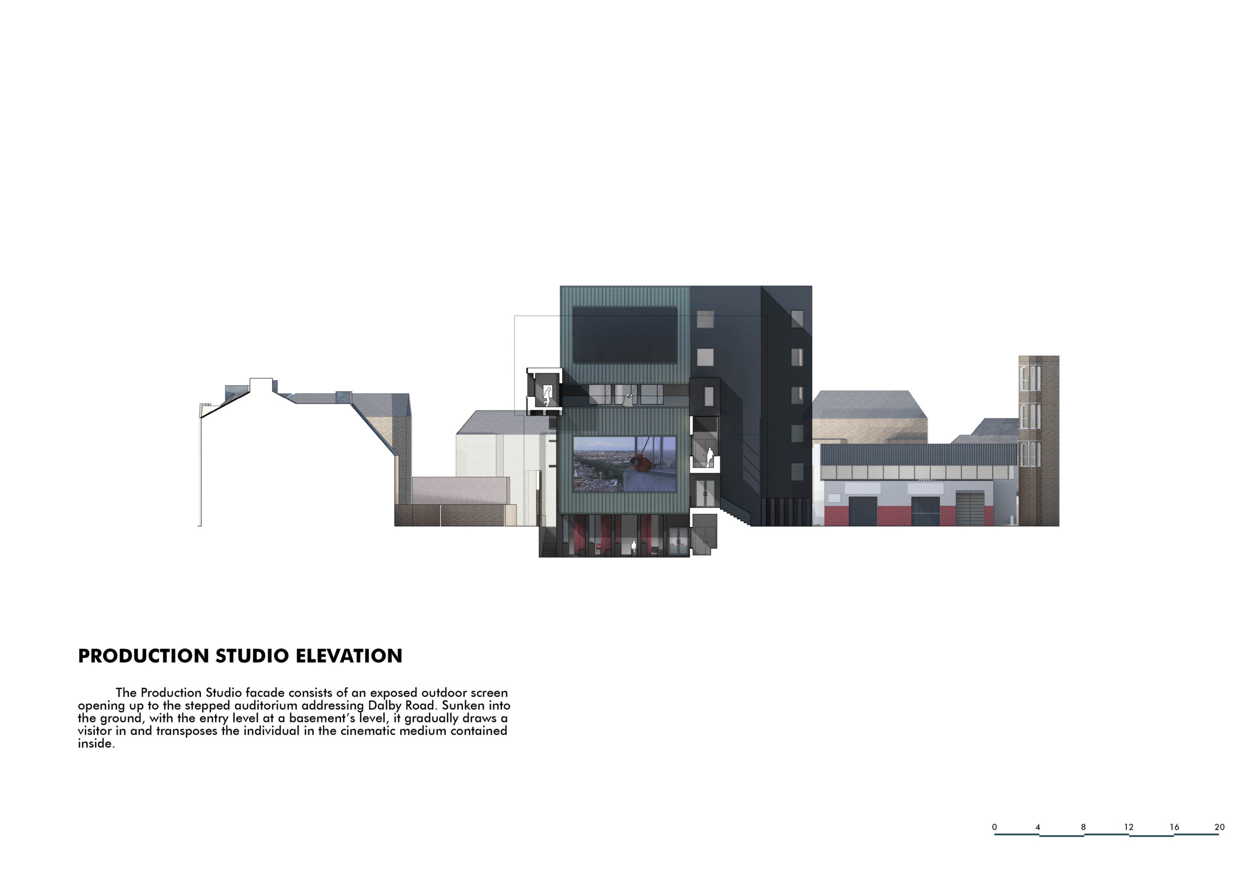 Production Studio elevation