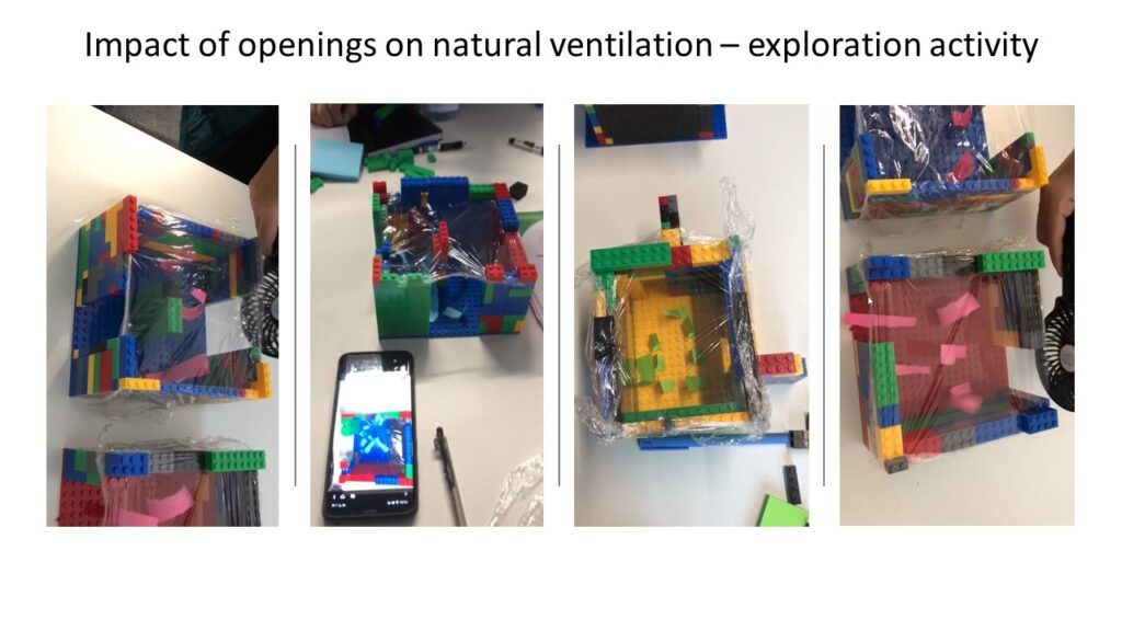 exploration of impact of openings on natural ventilation